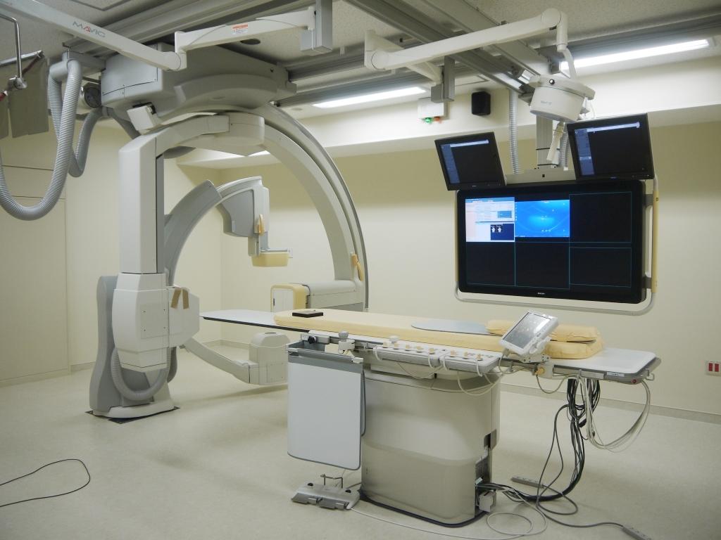 連続X線血管撮影装置